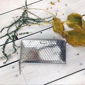 Kate Spade | New York Silver Leather Wallet